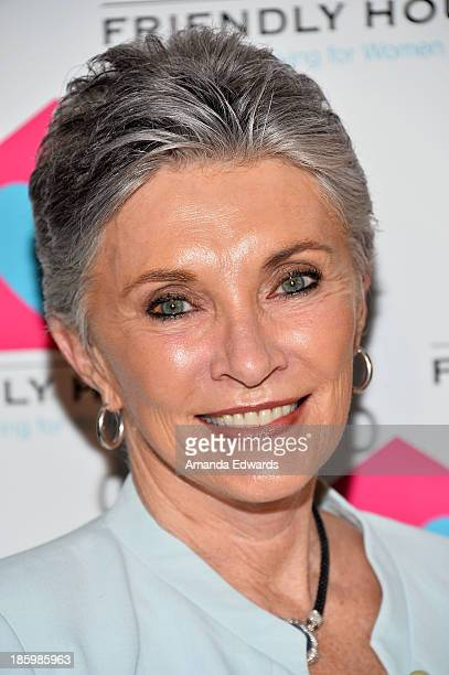 Actress and author Beverly Sassoon arrives at the Friendly House Los Angeles Annual Awards Luncheon at The Beverly Hilton Hotel on October 26 2013 in...