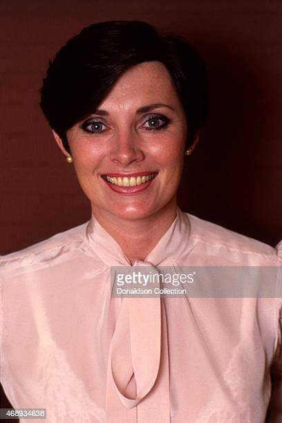 Actress and author Beverly Sassoon poses for a portrait session in circa 1990 in Los Angeles California