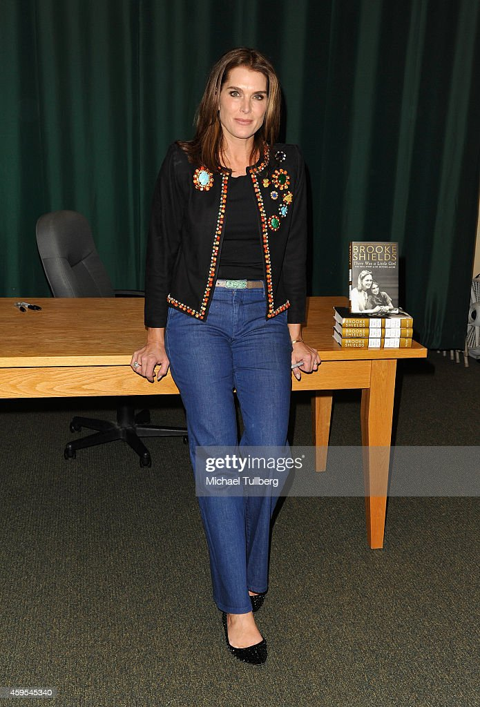 """Brooke Shields Book Signing For """"There Was A Little Girl"""""""