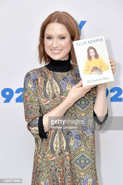 """Actress and author Ellie Kemper discusses her new book """"My Squirrel Days"""" at the 92nd Street Y on November 26, 2018 in New York City."""