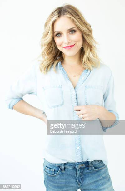 Actress and author Jenny Mollen poses for a portrait in January 2015 in New York City New York