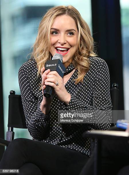 Actress and author Jenny Mollen speaks at AOL Build Speaker Series Jenny Mollen Live Fast Die Hot at AOL Studios In New York on June 10 2016 in New...