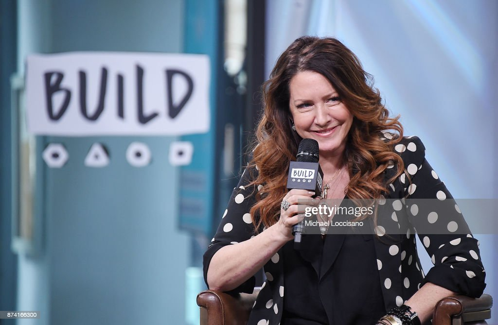 Actress and author Joely Fisher visits Build Studio to discuss her book 'Growing Up Fisher: Musings, Memories, and Misadventures' on November 14, 2017 in New York City.
