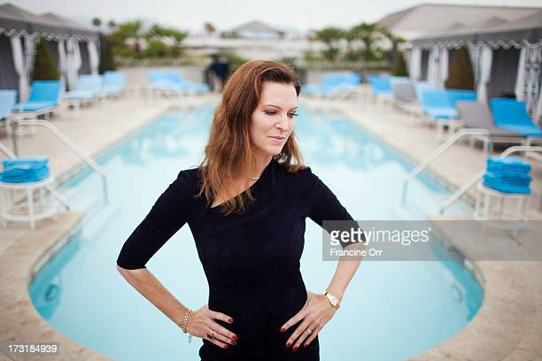 Actress and author Leslie Zemeckis is photographed for Los Angeles Times on June 7 2013 in Beverly Hills California PUBLISHED IMAGE CREDIT MUST READ...