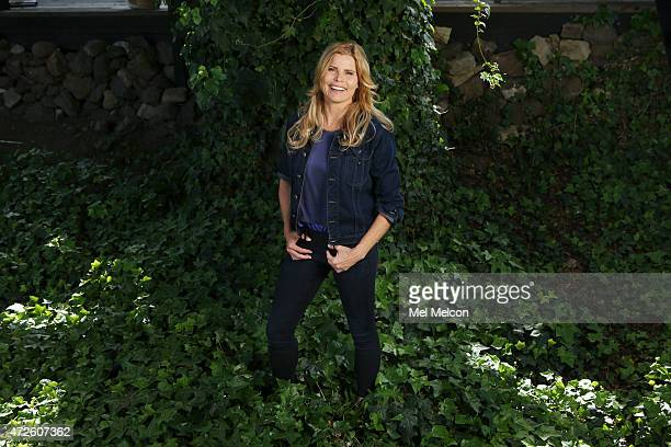 LOS ANGELES CA APRIL 02 2015 Actress and author Mariel Hemingway is photographed for Los Angeles Times on April 2 2015 in Calabasas California...