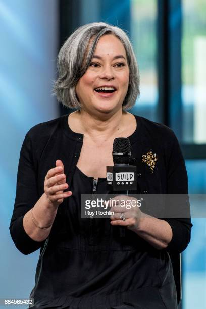 Actress and author Meg Tilly discusses 'Solace Island' with the Build Series at Build Studio on May 18 2017 in New York City