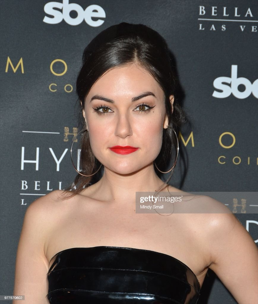 Sasha Grey DJ's At Hyde Bellagio In Las Vegas