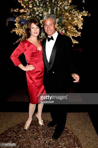Actress and award recipient Marcia Gay Harden and former Gold Medalist and event host Greg Louganis attend the 20th Annual American Foundation for...