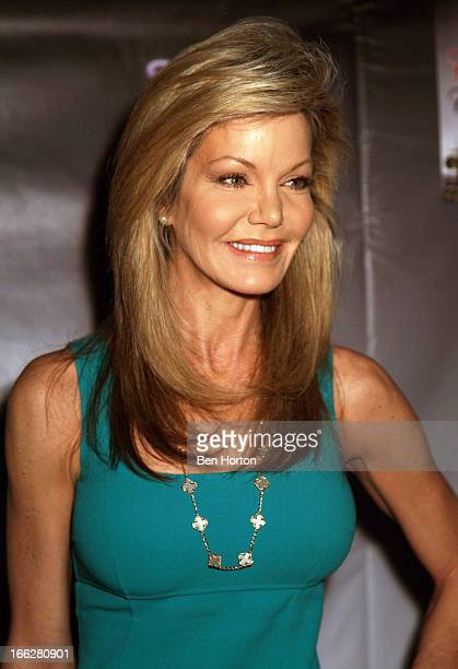 Actress and beauty queen Julie Hayek attends the launch party for Grace Robbins new book Cinderella and the Carpetbagger at SUR Lounge on April 10...