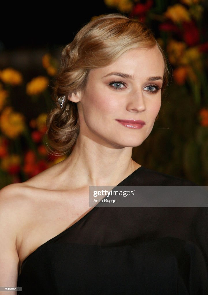 Actress and Berlinale Jury member Dian Kruger attends the 'Be Kind Rewind' Premiere as part of the 58th Berlinale Film Festival at the Berlinale Palast on February 16, 2008 in Berlin, Germany.