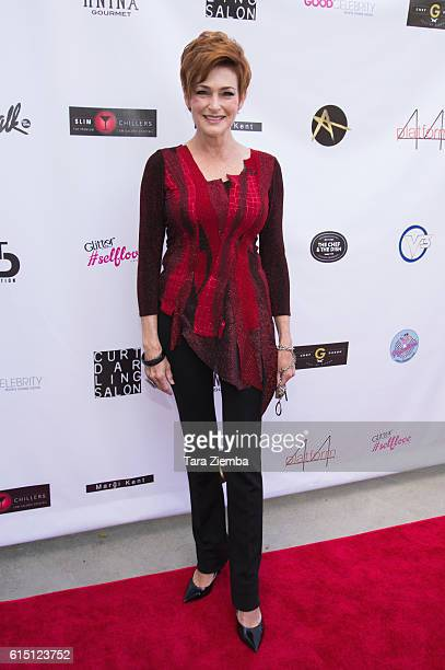 Actress and Breaking the Chains Ambassador Carolyn Hennesy attends Breaking The Chains Foundation and Glitter Magazines first annual fall reception...