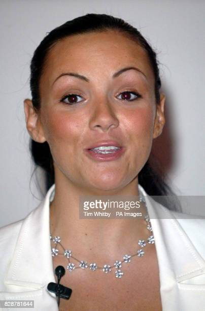 Actress and celebrity spokesperson Martine McCutcheon at the launch of the Almay Hypo Allergenic Awareness Week which runs from 814th September at...