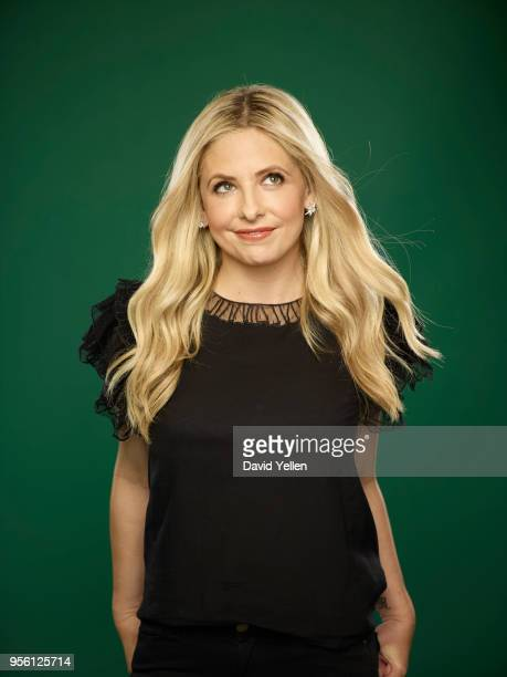 Actress and cofounder of Foodstirs Sarah Michelle Gellar is photographed for Entrepreneur Magazine on January 19 2018 in New York City PUBLISHED...