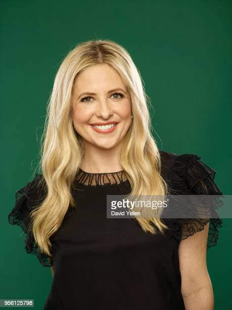 Actress and cofounder of Foodstirs Sarah Michelle Gellar is photographed for Entrepreneur Magazine on January 19 2018 in New York City ON EMBARGO...