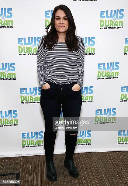 Actress and comedian Abbi Jacobson visits 'The Elvis Duran Z100 Morning Show' at Z100 Studio on October 26 2016 in New York City