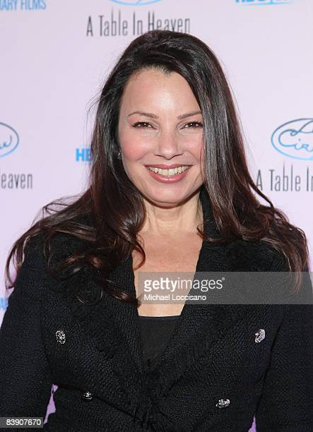 Actress and comedian Fran Drescher attends the New York celebration of the HBO documentary Le Cirque A Table In Heaven at Le Cirque on December 3...