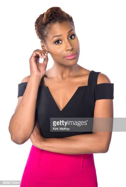 Actress and comedian Issa Rae is photographed for Los Angeles Times on April 29 2017 in Los Angeles California PUBLISHED IMAGE CREDIT MUST READ Kirk...