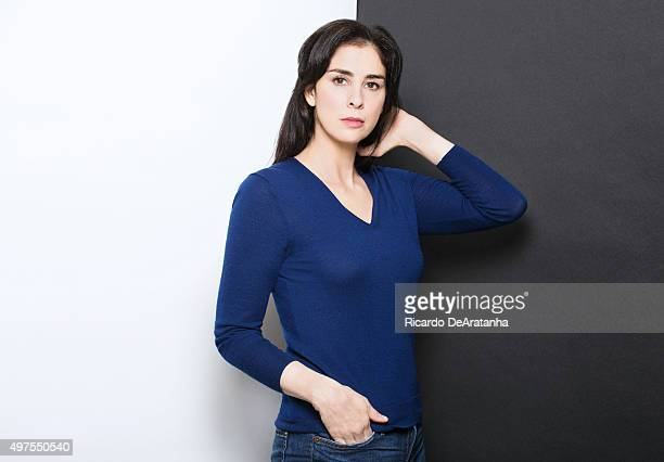 Actress and comedian Sarah Silverman is photographed for Los Angeles Times on October 19 2015 in Los Angeles California PUBLISHED IMAGE CREDIT MUST...