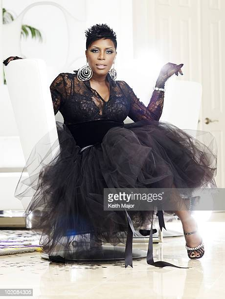 Actress and comedian Sommore poses for a portrait session on March 4 2008