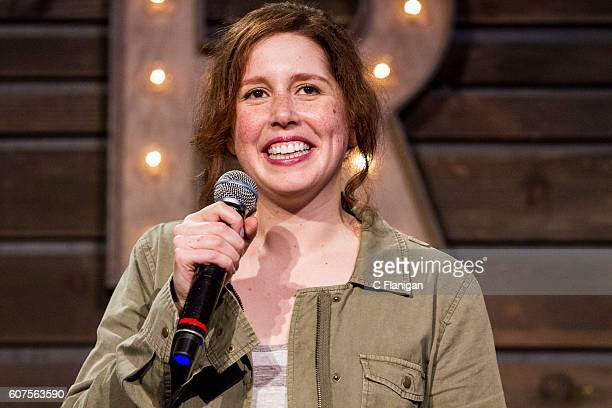Actress and comedian Vanessa Bayer performs at the Humor Stage at the 2016 KAABOO Del Mar at the Del Mar Fairgrounds on September 17 2016 in Del Mar...