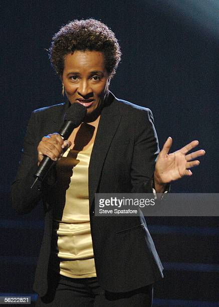 Actress and comedien Wanda Sykes performs during the taping of the Earth to America television special at The Colosseum at Caesars Palace November 17...