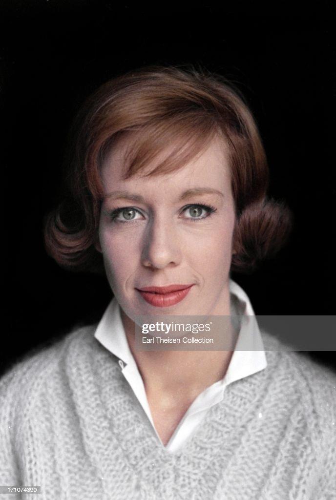 Carol Burnett Portrait Session : News Photo