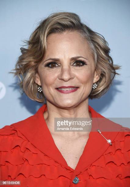 Actress and creator Amy Sedaris arrives at truTV's offical FYC event for 'At Home With Amy Sedaris' and Andrea Savage's 'I'm Sorry' at NeueHouse...