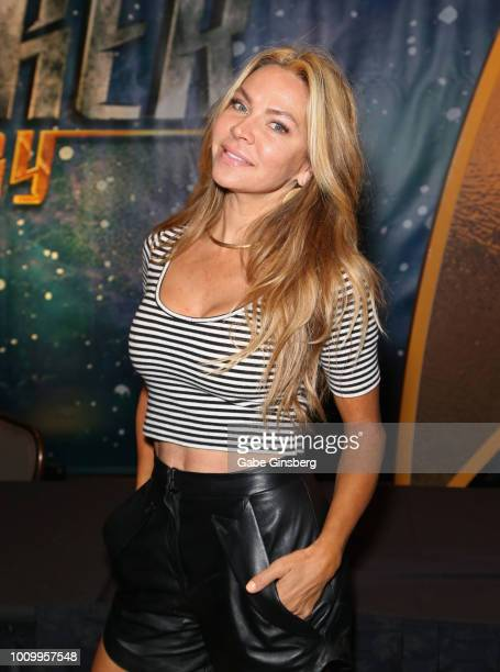 Actress and dancer Cyia Batten attends the 17th annual official Star Trek convention at the Rio Hotel Casino on August 2 2018 in Las Vegas Nevada