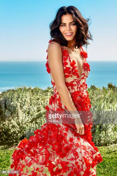 Actress and dancer Jenna Dewan Tatum is photographed for Redbook Magazine on January 28 2017 in Malibu California PUBLISHED IMAGE