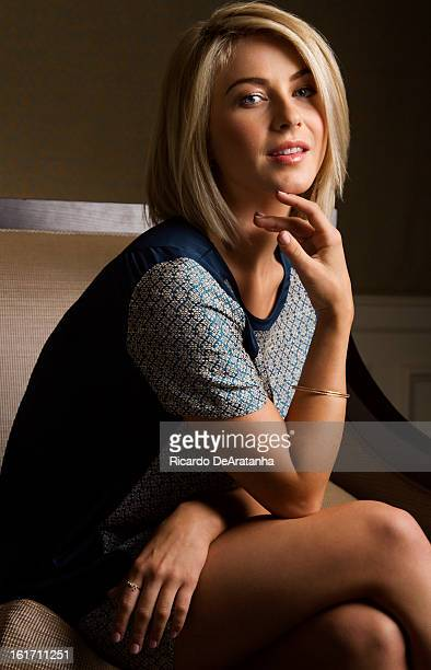 Actress and dancer Julianne Hough is photographed for Los Angeles Times on January 25 2013 in Beverly Hills California PUBLISHED IMAGE CREDIT MUST...