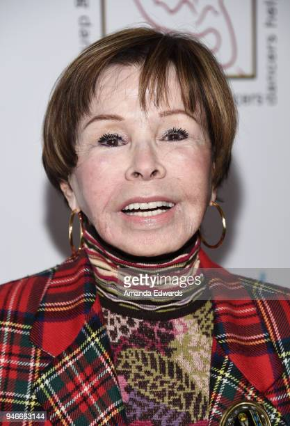 Actress and dancer Neile Adams arrives at the 31st Annual Gypsy Awards Luncheon at The Beverly Hilton Hotel on April 15 2018 in Beverly Hills...