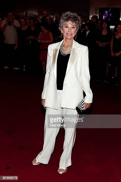 Actress and dancer Rita Moreno on the red carpet at the 12th Annual Mark Twain Prize at the John F Kennedy Center for the Performing Arts on October...