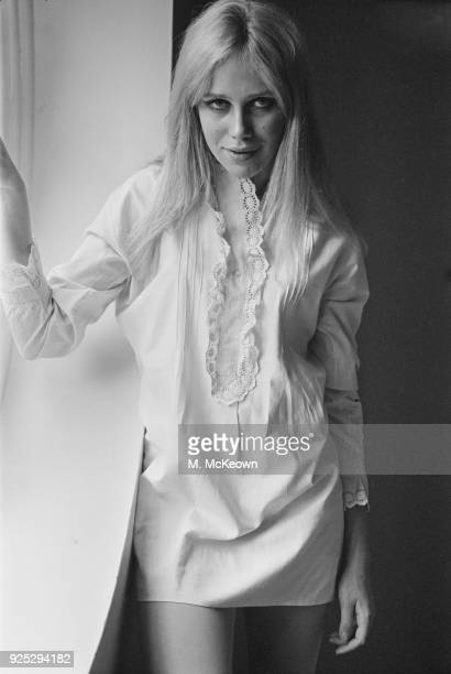 Actress and debutante Carinthia West UK 13th May 1968
