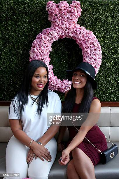 Actress and designer Mechelle Epps and Alia Kruz attend the Pandora Rose Launch Party during MercedesBenz Fashion Week at Empire Hotel on September 5...