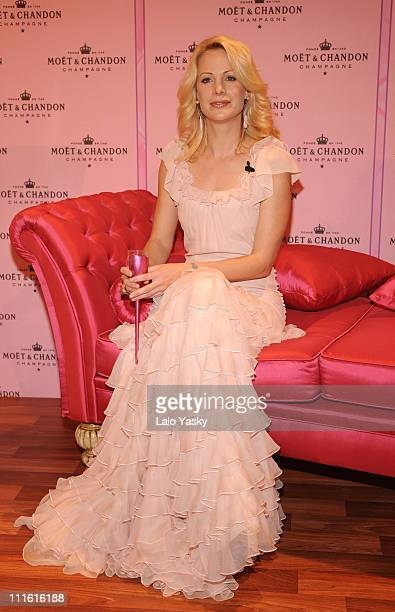 Actress and director Alison Eastwood presents Moet Rose Indulgence Coffret limited edition at Moet Chandon Kissing Room/IFEMA on February 12 2008 in...