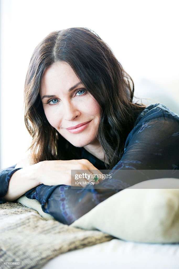 LOS ANGELES, CA - APRIL 13, 2015 - Actress and director Courteney Cox is photographed for Los Angeles Times on April 13, 2015 in Los Angeles, California. PUBLISHED IMAGE.