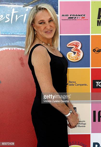 Actress and Director Eleonora Giorgi attends the Giffoni Film Festival on July 26, 2008 in Giffoni, Italy.