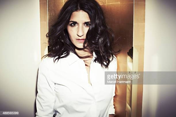 Actress and director Geraldine Nakache is photographed for Self Assignment on June 14 2012 in Paris France