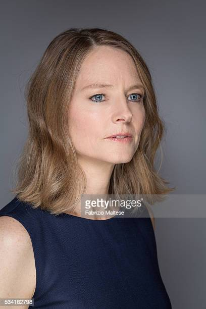 Actress and director Jodie Foster is photographed for The Hollywood Reporter on May 14 2016 in Cannes France