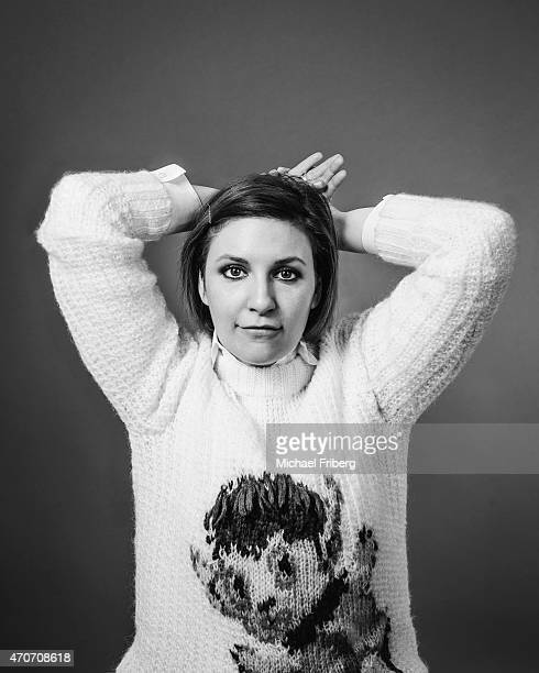 Actress and director Lena Dunham is photographed for Variety on February 3 2015 in Park City Utah