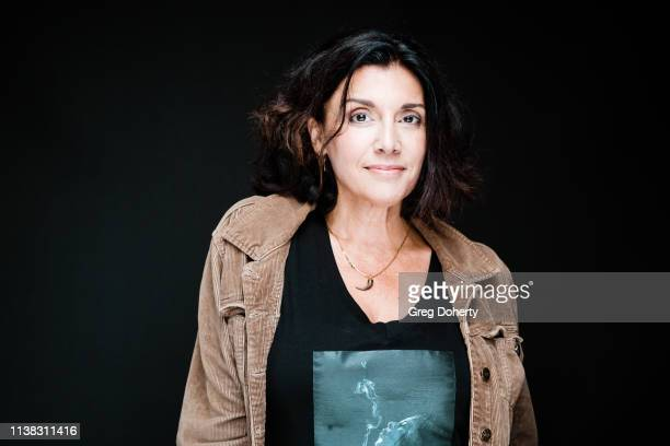 Actress and Director Madeline Vail wearing a Cannacity Shirt Design with Photography by Michael Bezjian attends the Welcome to Cannacity 'She's...