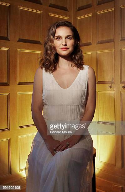 Actress and director Natalie Portman is photographed for Los Angeles Times on August 2 2016 in Los Angeles California PUBLISHED IMAGE CREDIT MUST...