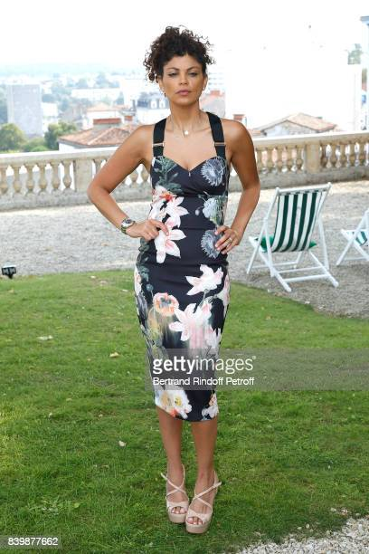 Actress and director of the movie C'est tout pour moi Nawell Madani attends the 10th Angouleme FrenchSpeaking Film Festival Day Six on August 27 2017...