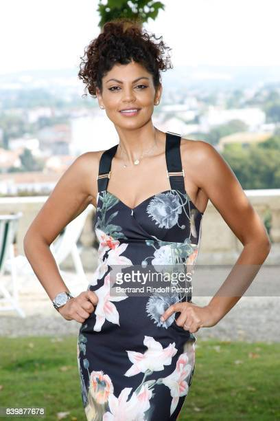 Actress and director of the movie 'C'est tout pour moi' Nawell Madani attends the 10th Angouleme FrenchSpeaking Film Festival Day Six on August 27...