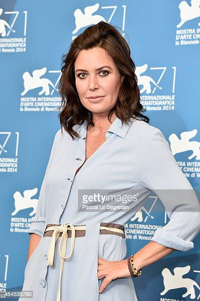 Actress and director Sabina Guzzanti attends the 'La Trattativa' Photocall during the 71st Venice Film Festival on September 3 2014 in Venice Italy