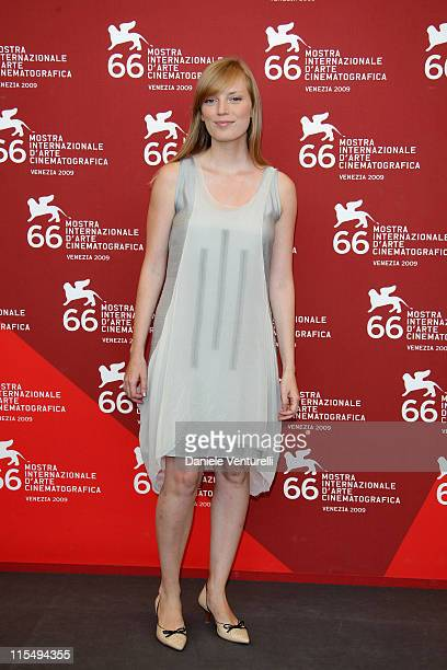 Actress and director Sarah Polley attends the 'Mr Nobody' photocall at the Palazzo del Casino during the 66th Venice Film Festival on September 11...