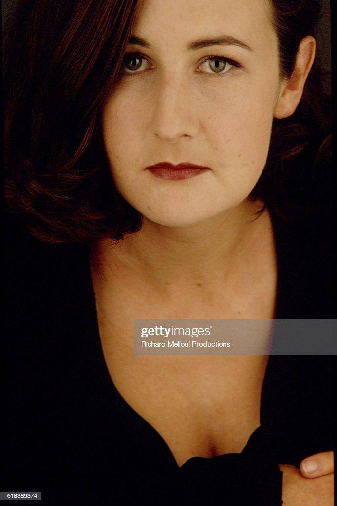 Actress and Director Valerie Lemercier : Photo d'actualité