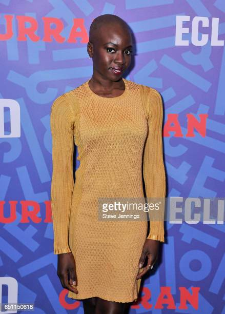 Actress and 'Eclipsed' Playwright Danai Gurira celebrates Women's History Month on it's Opening Night of 'Eclipsed' at the Curran Theater on March 9...