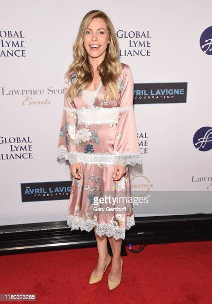 Actress and entrepreneur Crystal Hefner attends the Global Lyme Alliance's 5th Annual New York City Gala at Cipriani 42nd Street on October 10 2019...