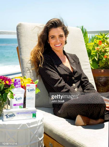 Actress and entrepreneur Nikki Reed shows off her radiant healthy smile at Tom's of Maine Natural Summer Smiles event on June 18 2018 in Malibu...
